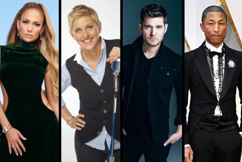 Costará alrededor de 1 millón de dólares la reparación de las estrellas de Jennifer Lopez, Ellen DeGeneres, Michael Bublé y Pharrell Williams.