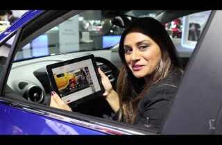 L.A. Auto Show: Wifi access demonstration in Chevrolet Trax