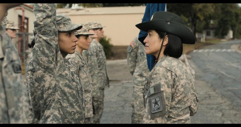 """Fermo immagine da """"Prova ,"""" Uno dei 38 film proiettati online durante il San Diego GI Film Festival dal 18 al 23 maggio."""