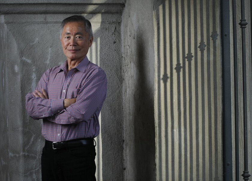 George Takei, photographed at the Old Globe Theatre in 2012.