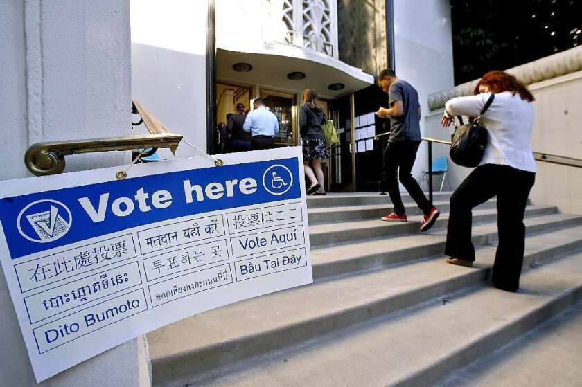 Attention Burbank voters: Don't mail that ballot