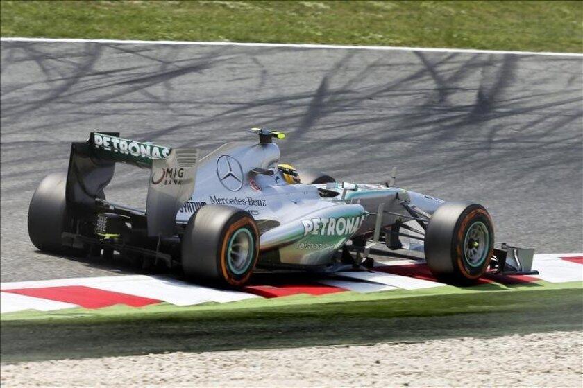 El piloto alemán de Fórmula Uno, Nico Rosberg de Mercedes AMG. EFE/Archivo
