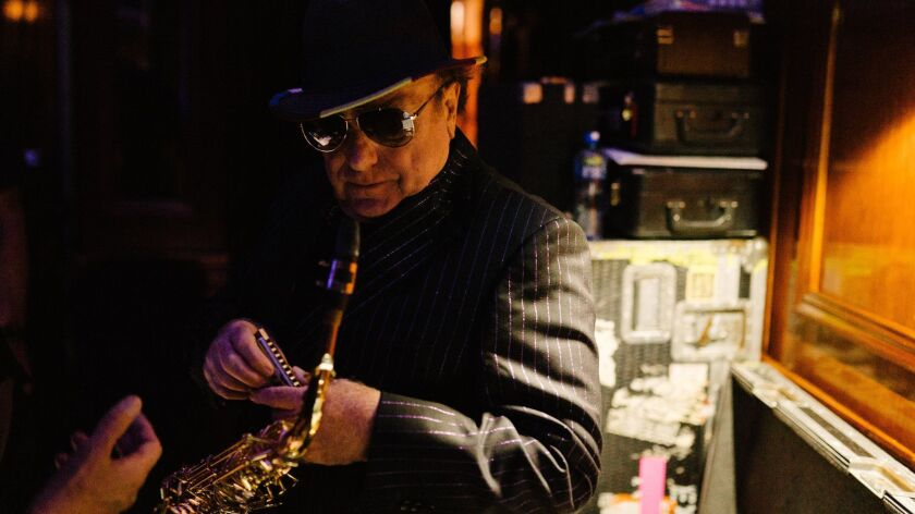 Van Morrison is in the midst of a seven-night residency at the Colosseum at Caesars Palace in Las Vegas, on a U.S. tour that also brings him to L.A. for shows Feb. 5 and 6 at the Wiltern Theatre.