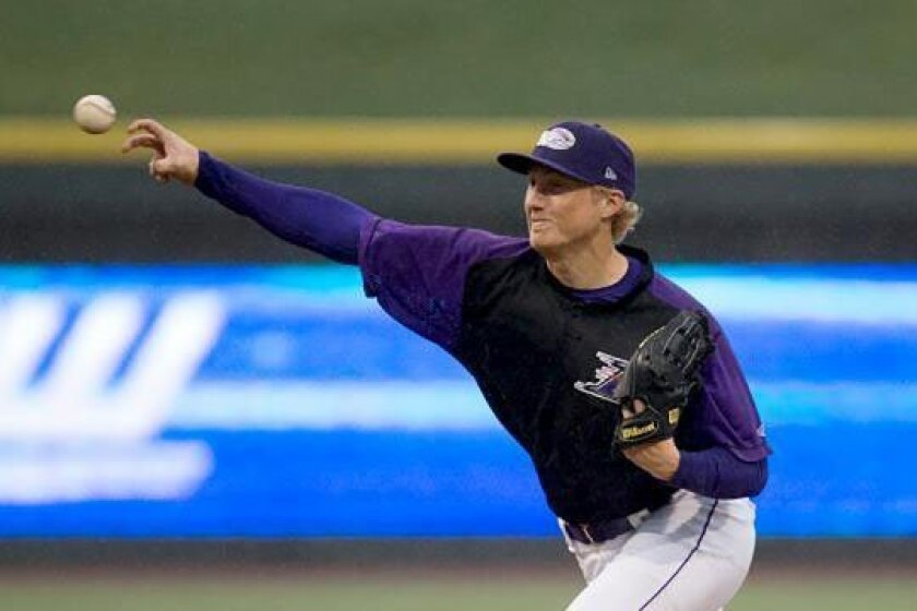 James Dykstra, who tossed a no-hitter this season for the Winston-Salem Dash, pitched last week for the Carolina League All-Stars.