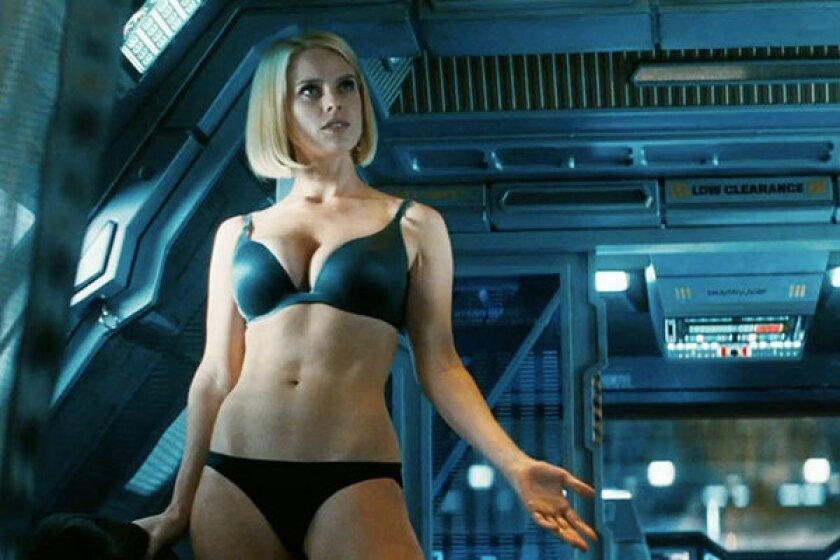 """Alice Eve, as Carol, in """"Star Trek Into Darkness."""""""