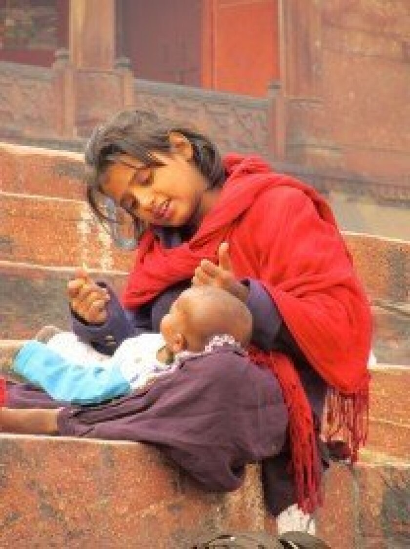 The United Nations Children's Fund estimates there are more than 11 million homeless children in India.