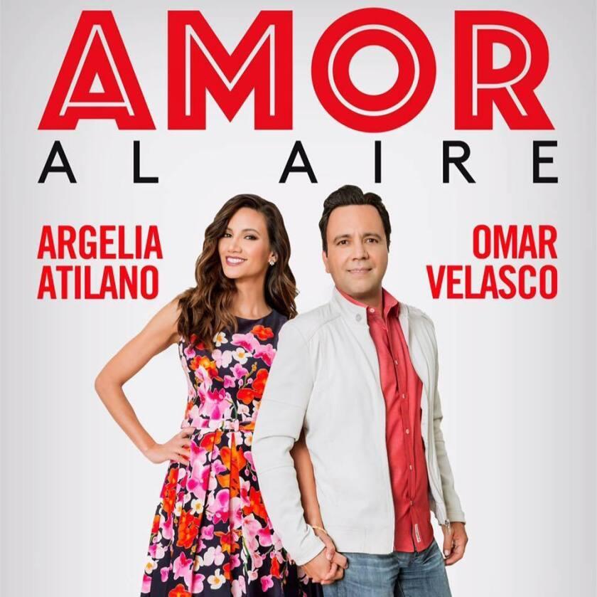 """La pareja de locutores Argelia y Omar revelan cómo se gestó su """"Amor al aire"""""""