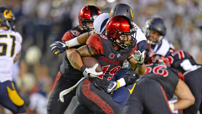 NCAA Football: California at San Diego State