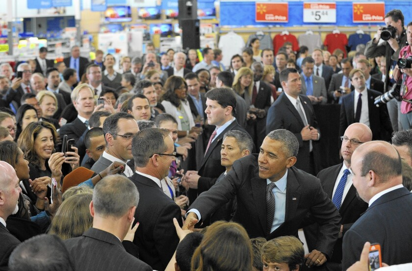 President Obama in Mountain View, Calif.