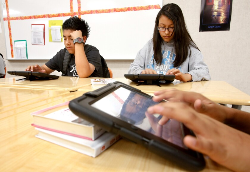 According to the bond oversight committee of Los Angeles Unified and an article by The Times, LAUSD is asking for more money than it needs for computer devices for students.