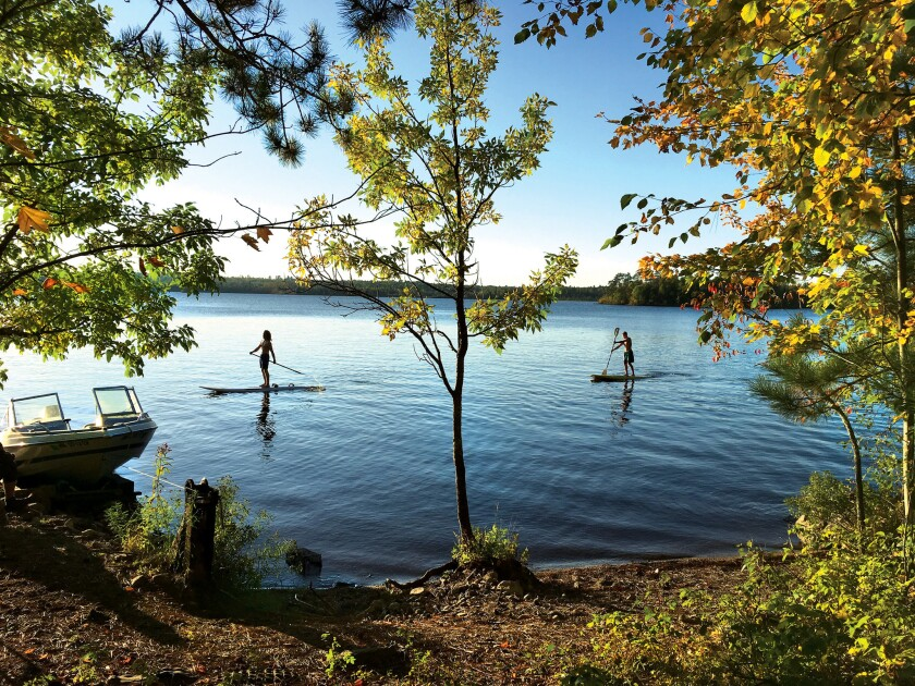 Why autumn is the best time for a trip to the Boundary Waters