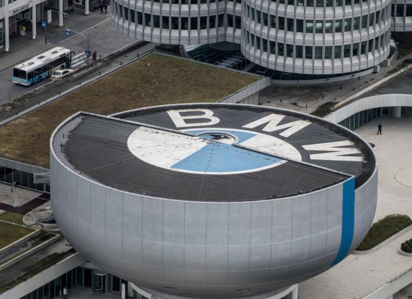 Vista general de la sede del fabricante automovilístico alemán BMW en Múnich (Alemania). EFE/Archivo