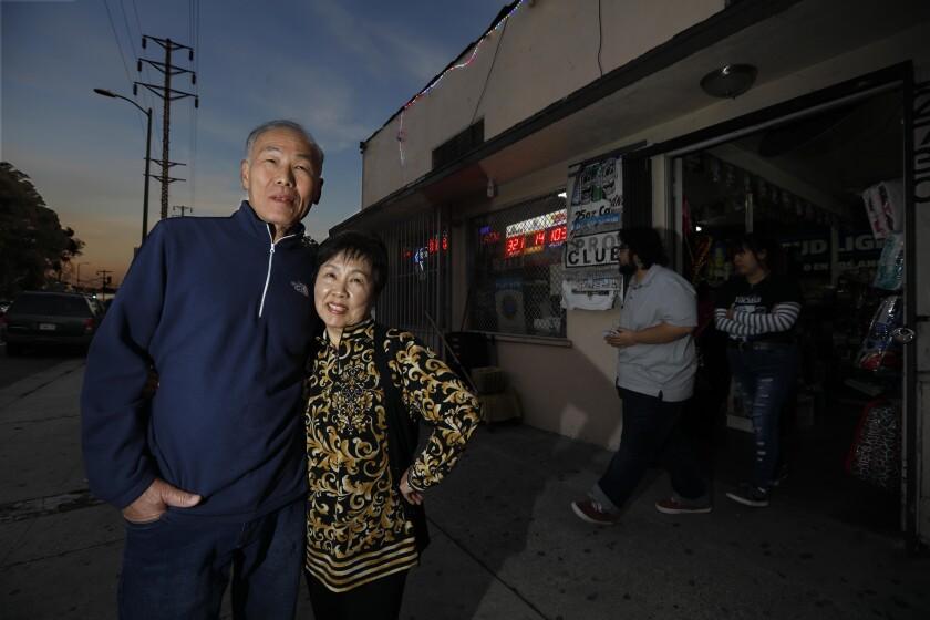 Linda and Anthony Cho