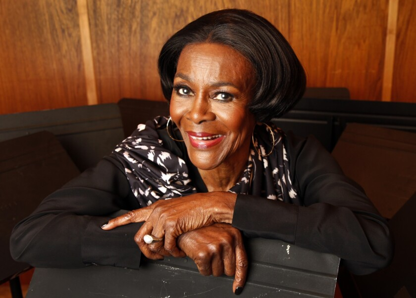 "Cicely Tyson is reprising her Tony Award-winning role in ""The Trip to Bountiful"" at the Ahmanson Theatre."