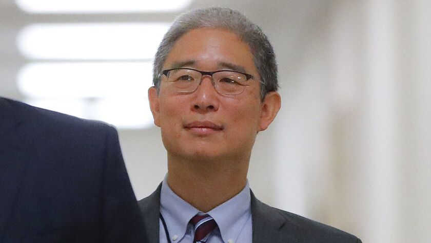 "A former British spy told Bruce Ohr, a senior Justice Department lawyer, that Russian intelligence believed it had Donald Trump ""over a barrel,"" according to multiple people familiar with the encounter."