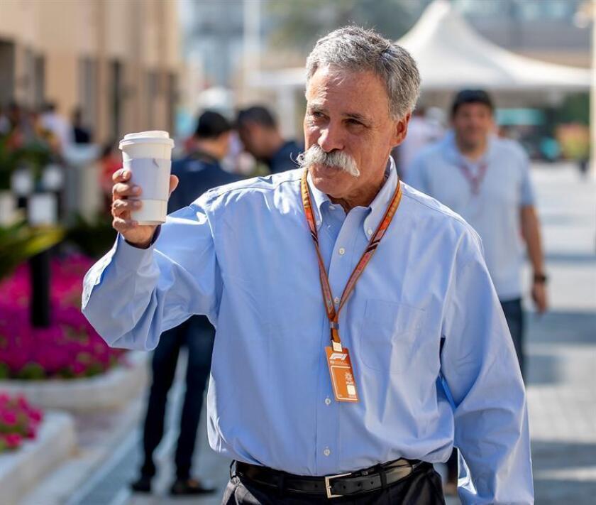 El consejero delegado de la Fórmula Uno, el estadounidense Chase Carey. EFE/Archivo