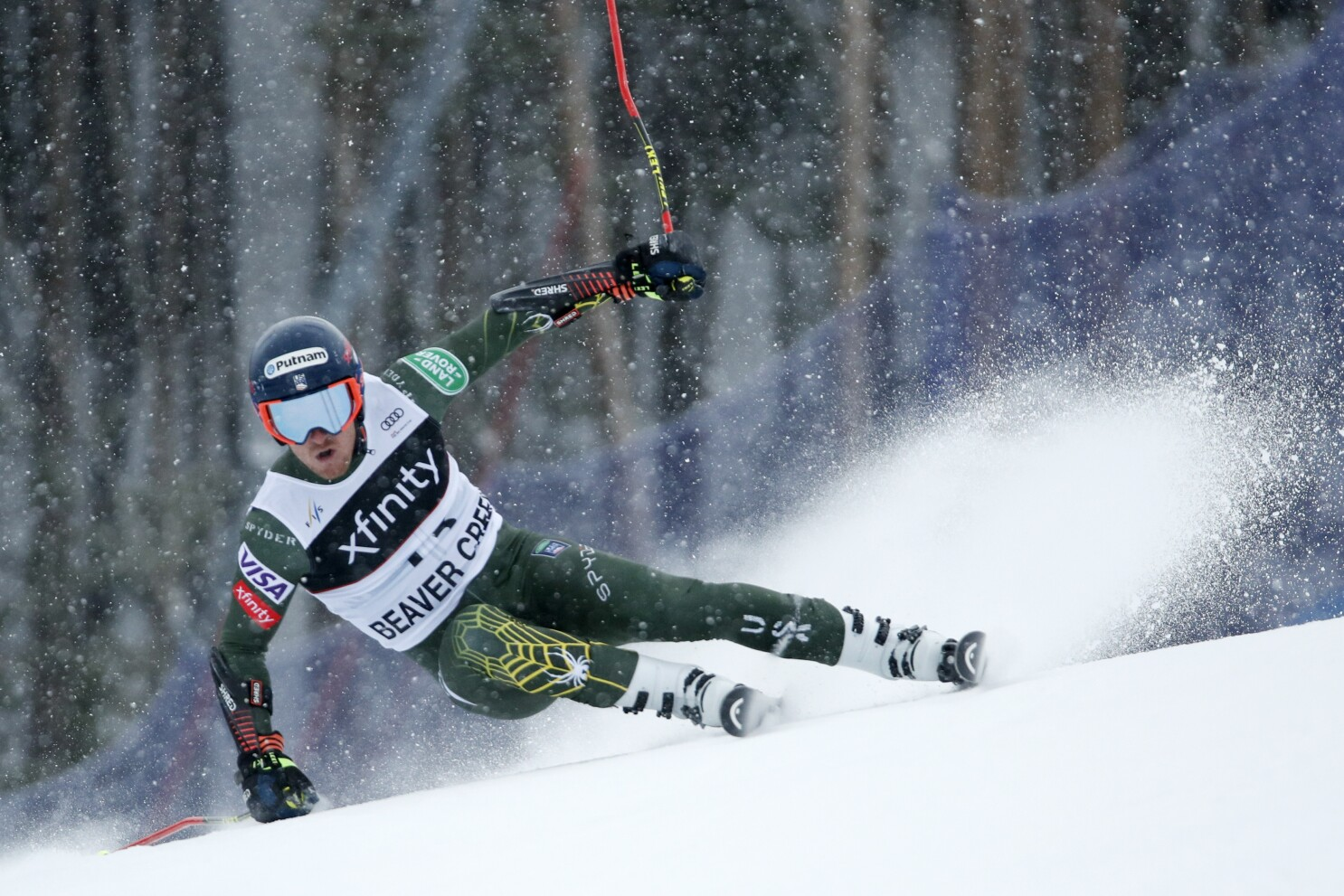 Ford Cruises In Giant Slalom For 1st Career World Cup Win The San Diego Union Tribune