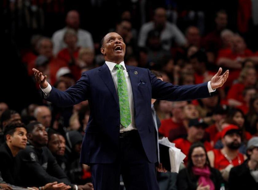 Alvin Gentry, entrenador de los Pelicans de Nueva Orleans. EFE/Archivo