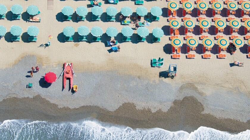 "Gray Malin's ""Beaches"""