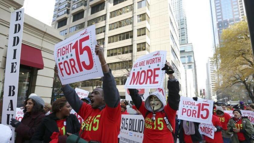 El salario mínimo aumentará en Nueva York a partir del 31 de diciembre de 2016. En otros 14 estados, en el que se incluye California, entrará el vigor el 1 de enero de 2017. En el caso de Oregon, Maryland, Nevada y el Distrito de Columbia se aplicará el incremento el 1 de julio próximo.