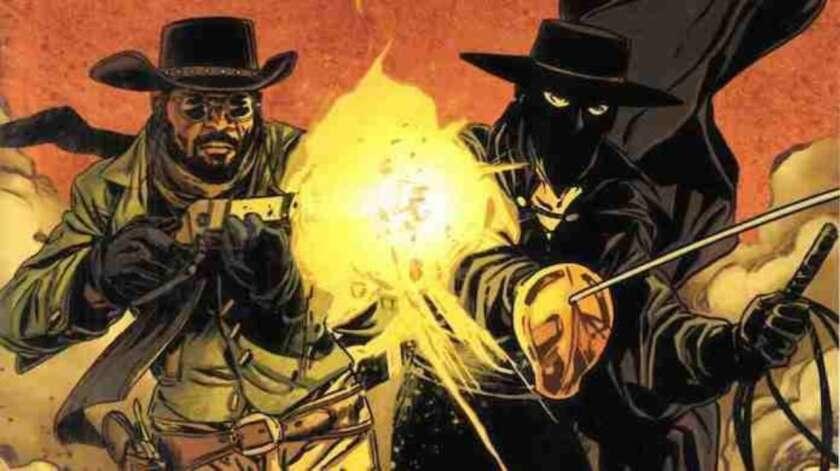 D'jango y El Zorro juntos