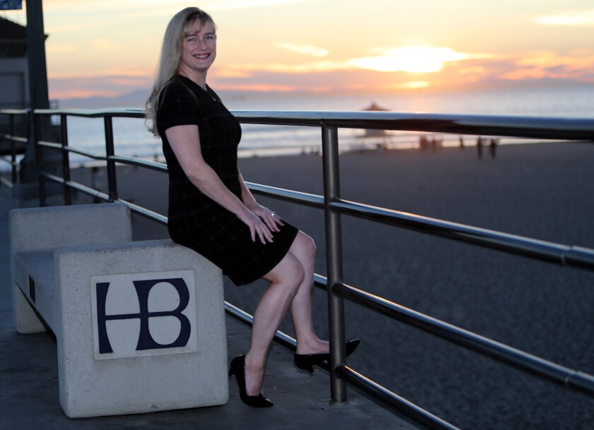 Huntington Beach City Councilwoman Jill Hardy was first elected in 2002.