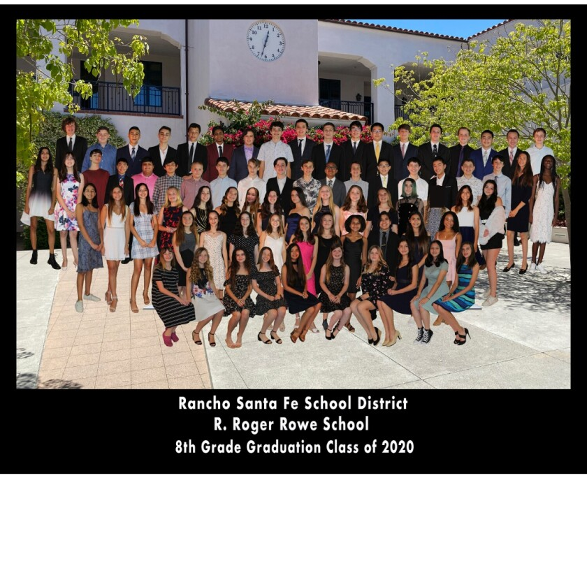 A virtual portrait of the R. Roger Rowe Middle School graduating class of 2020.
