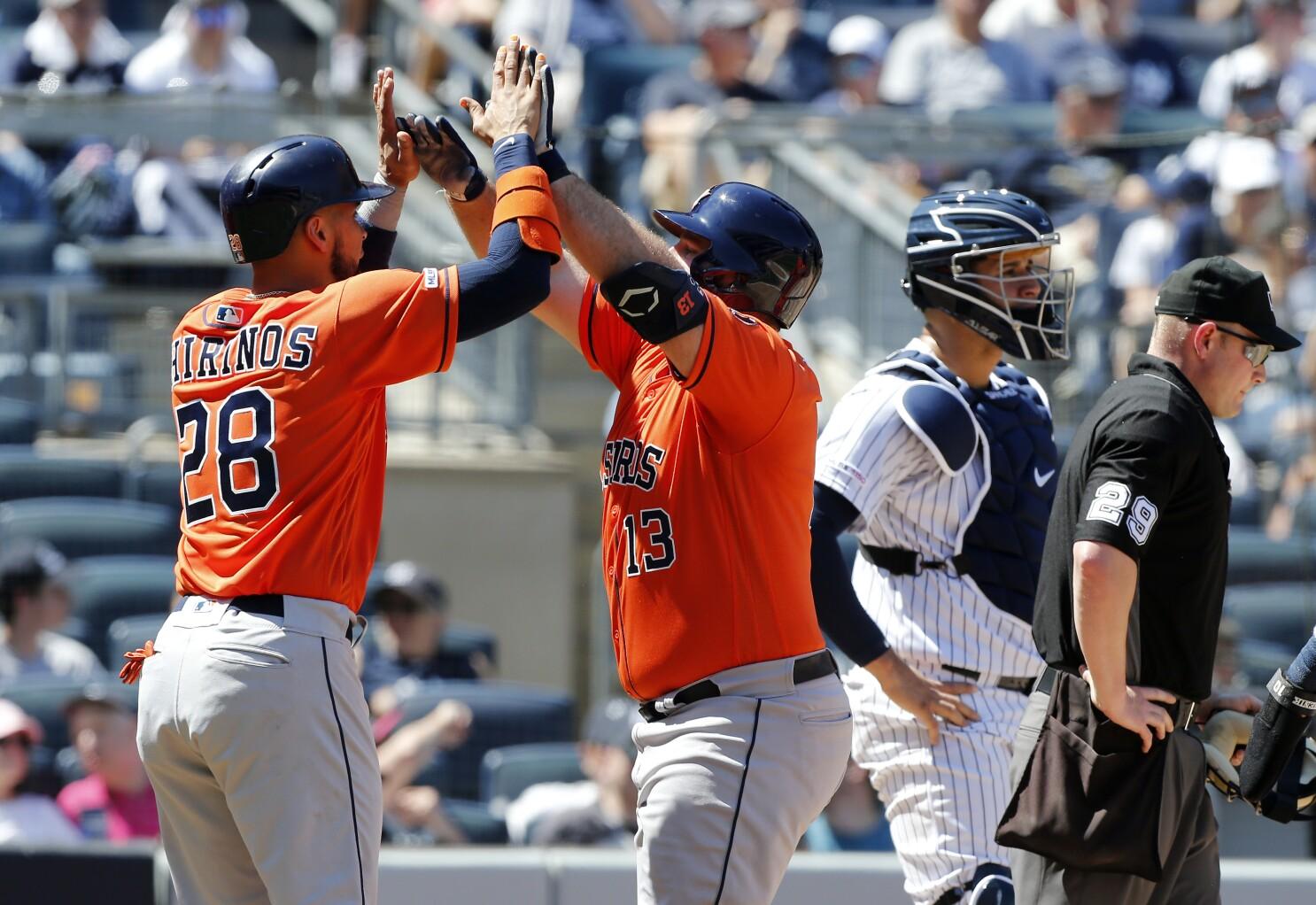 AL Championship Series at a glance: Yankees vs. Astros