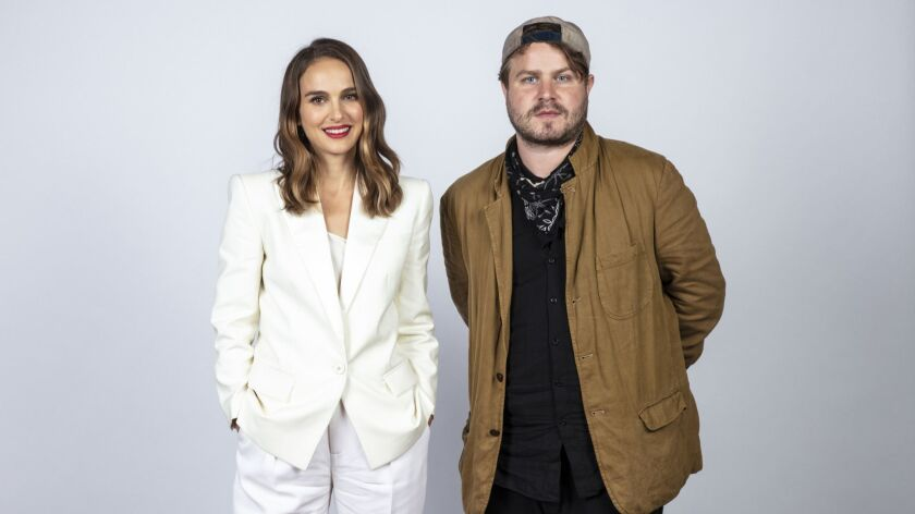 TORONTO, ONT. -- SEPTEMBER 08, 2018-- Actress Natalie Portman, and director Brady Corbet, from the