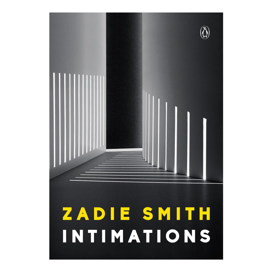 HOLIDAY GIFT GUIDE - Cover of the book Intimations by Zadie Smith.