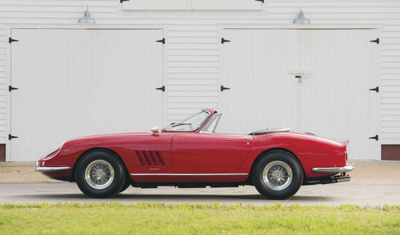 1967 Ferrari 275 Gtb 4 S N A R T Spider Los Angeles Times