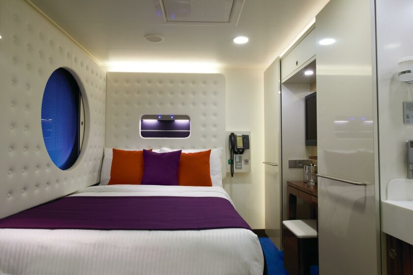 Norwegian Cruise Line's newest ship, the Escape, has 82 studios for solo travelers.