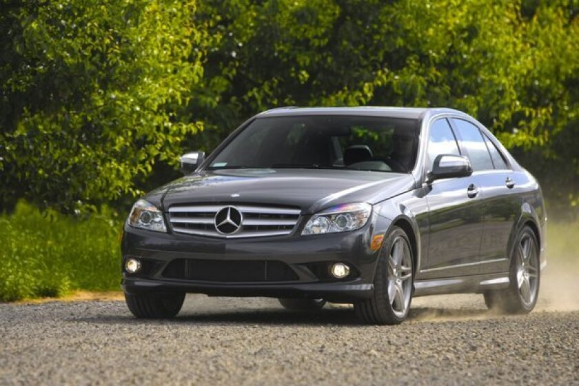 The 2008 Mercedes-Benz C350 is one of 218,000 C-Class models from 2008 and 2009 that are being investigated for a fire risk.