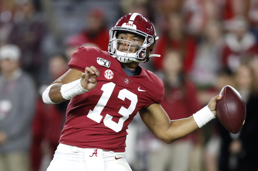 Former Alabama quarterback Tua Tagovailoa could be available for the Chargers at No. 6. That doesn't mean they should select him, or any other quarterback, in the first round of the NFL draft on Thursday.