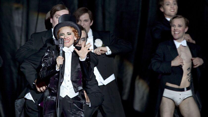 "Barrie Kosky's Komische Oper production of Paul Abraham's ""Ball im Savoy"" in Berlin."
