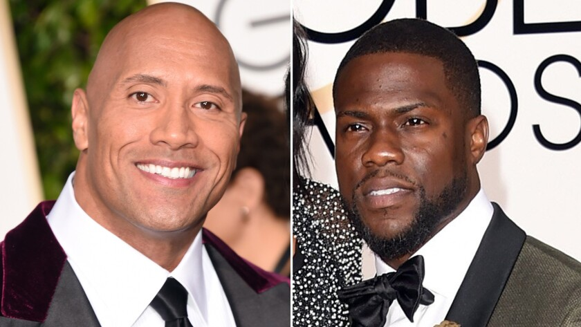 Actor Dwayne Johnson and comedian Kevin Hart will co-host the 2016 MTV Movie Awards.
