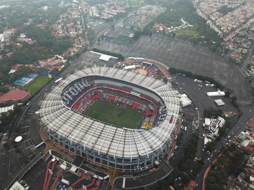 Imagen del Estadio Azteca, en el que se tendría que haber disputado el partido. EFE/Archivo