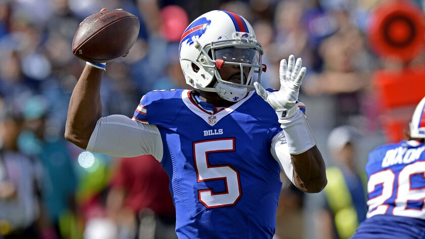 Tyrod Taylor is expected to take over for the Chargers in Week 1.