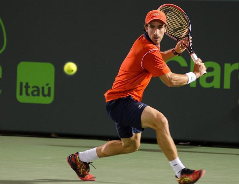 En la imagen, el tenista uruguayo Pablo Cuevas. EFE/Archivo