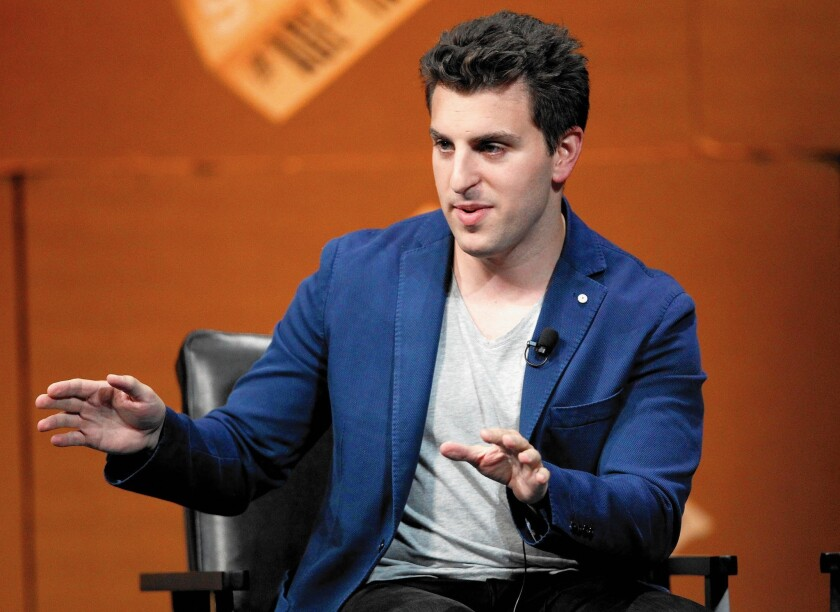 Airbnb co-founder and Chief Executive Brian Chesky