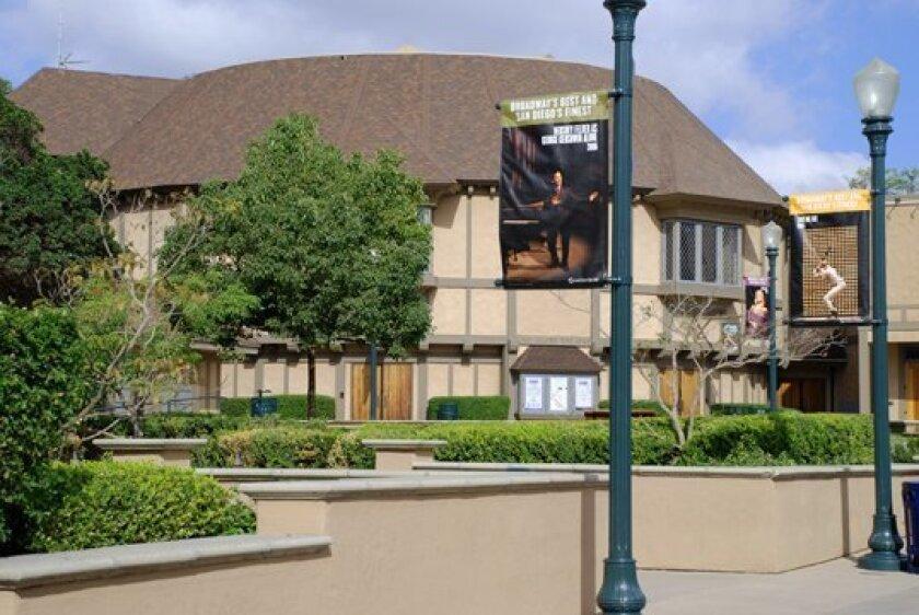 The Old Globe Theatre.