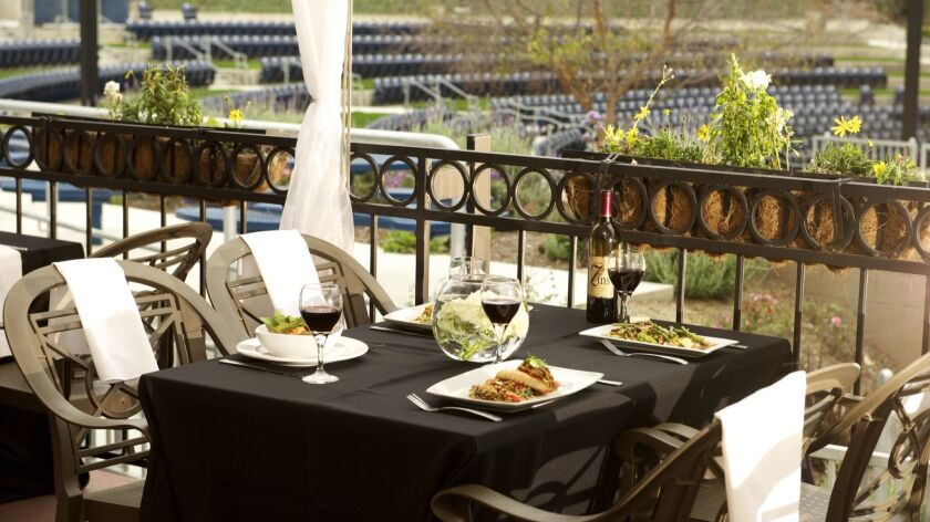A new restaurant vendor, Kitchens for Good, has been chosen to serve meals as well as gourmet picnic baskets at Vista's outdoor Moonlight Amphitheatre.