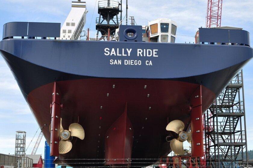 The R/V Sally Ride