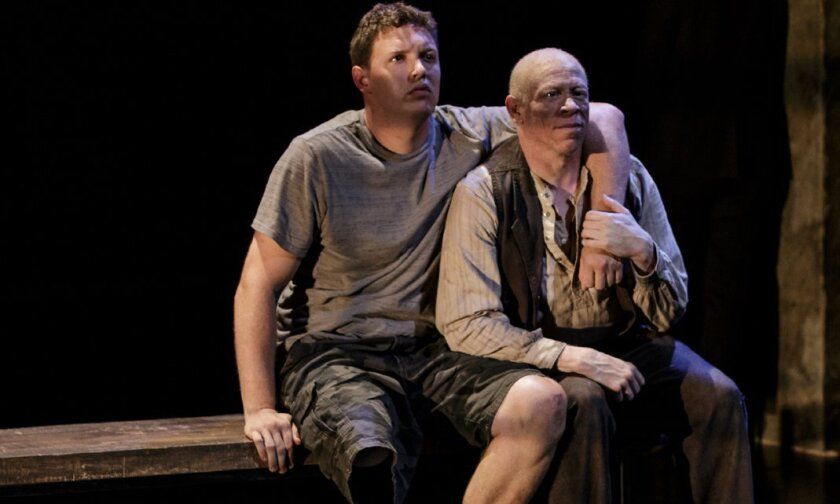 Paul Hurley and Keith A. Thompson in 'Healing Wars.'