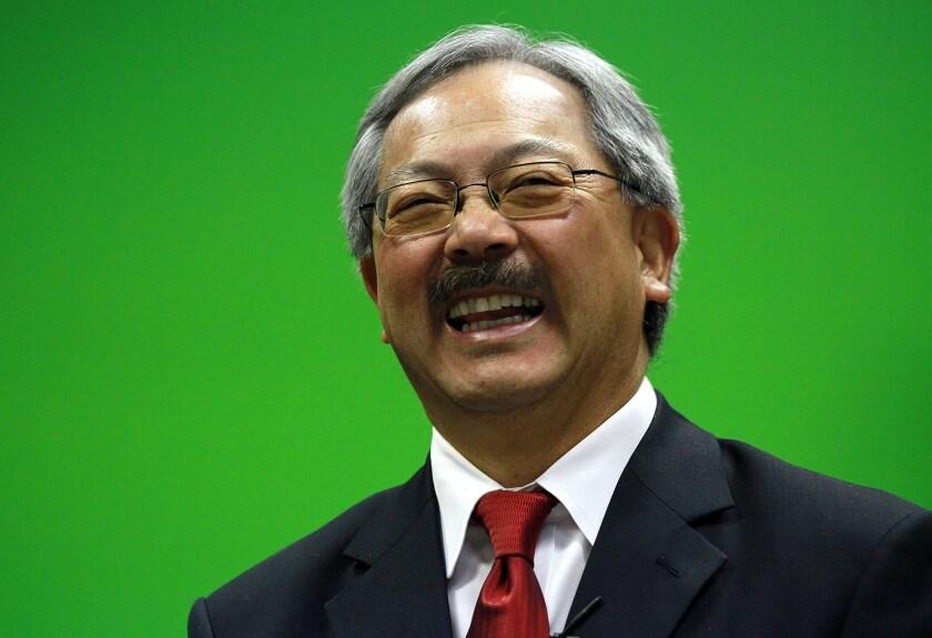 San Francisco's late Mayor Ed Lee