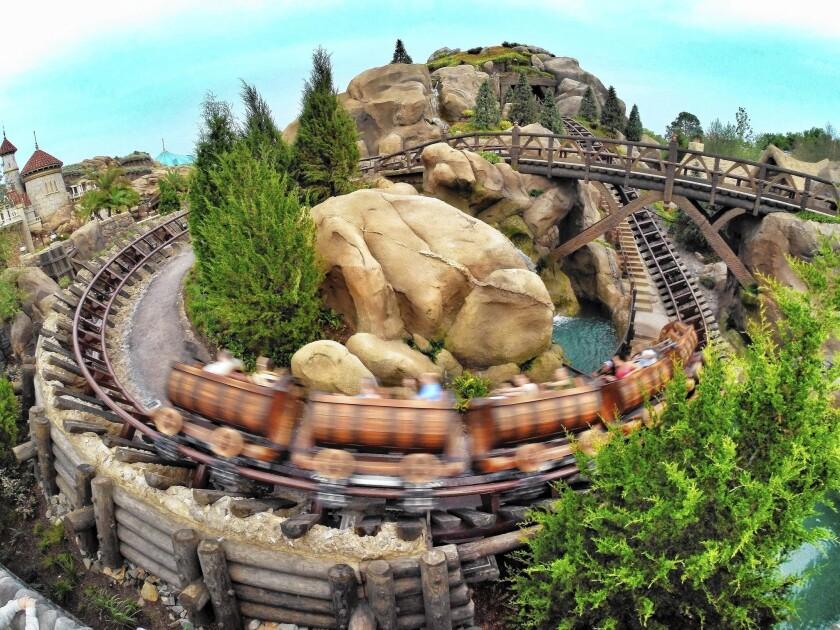 Disney opens new Seven Dwarfs Mine Train attraction