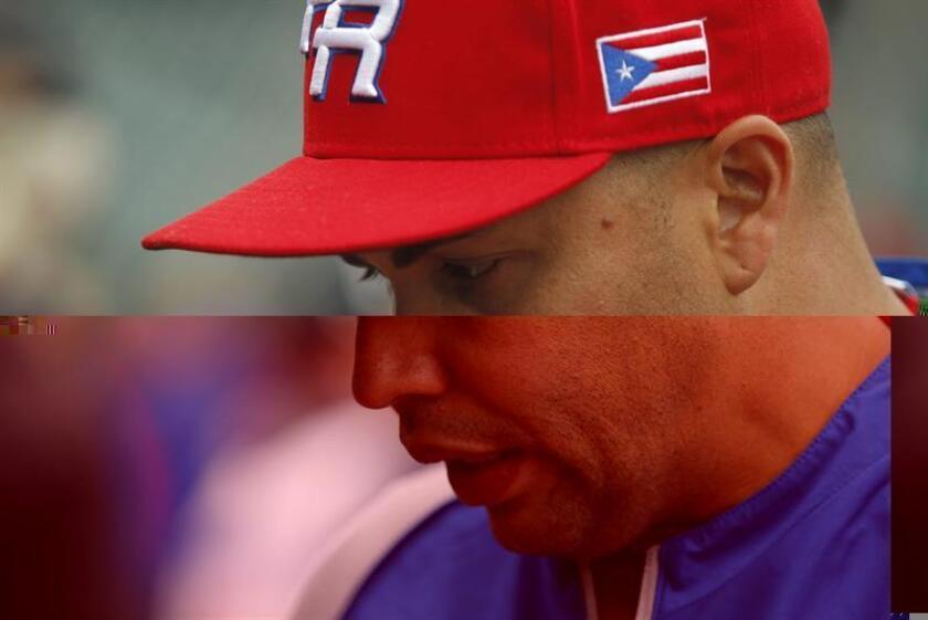 Carlos Beltrán, pelotero puertorriqueño de los Astros de Houston. EFE/Archivo