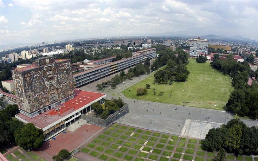 Fotografía tomada de la Universidad Nacional Autónoma de México (UNAM), en Ciudad de México. EFE/Archivo