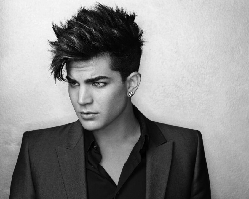 North County-raised pop star Adam Lambert will perform July 2. RCA Records