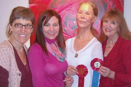 La Jolla Art Assoc - La Vie En Rose 2-28-13